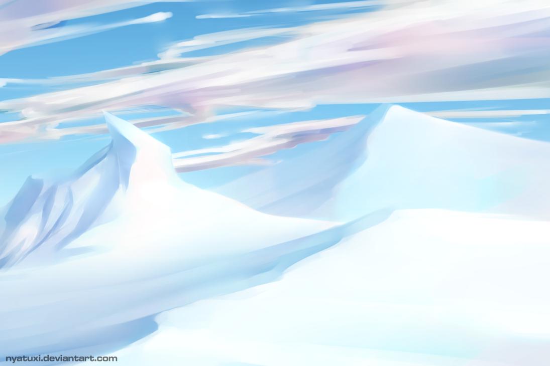 Ultimate Background Challenge - 1 Arctic desert by Nyatuxi on ...