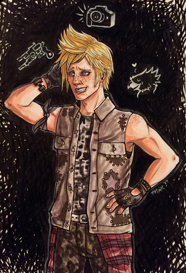 What's on your mind Prompto? by Biodin