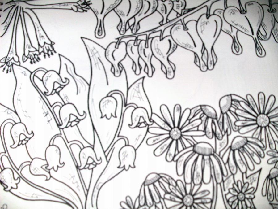 Flower Garden by ToniTiger415 on DeviantArt