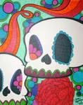 Two Sugar Skulls