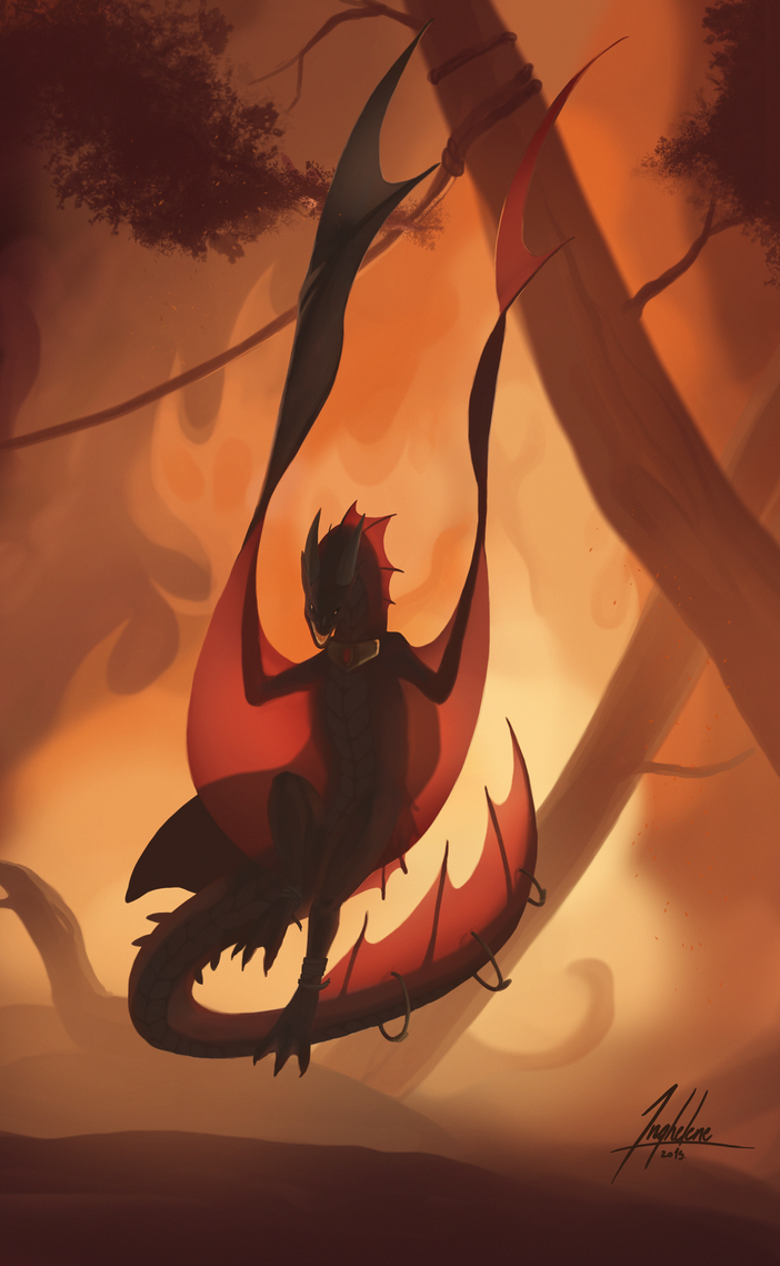Of smoke and fire by Inghelene