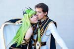 Code Geass R2 - Lelouch and CC by s-hadow-girl