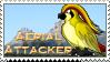 Stamp- Aerial Attacker by LtJJFalcon
