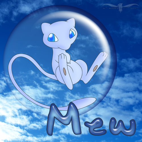 PKMN - Shiny Mew by LtJJFalcon on DeviantArt