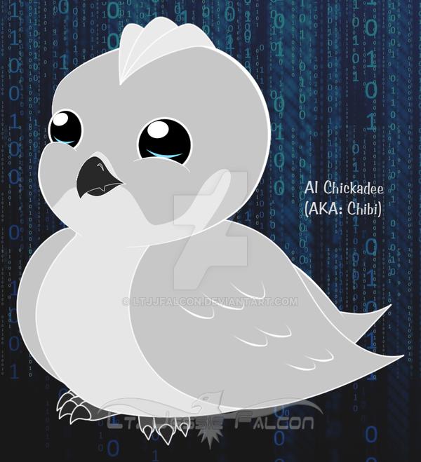 Crosshairs - AI Chickadee by LtJJFalcon