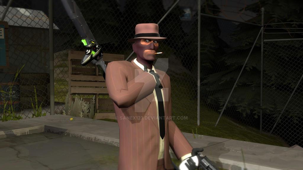 Update my Oc spy by Sanex123