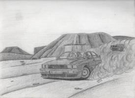 Audi Quattro and Lancia Delta HF Integrale