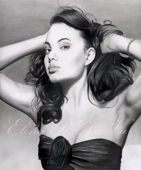 Angelina Jolie no2 by ElenaR