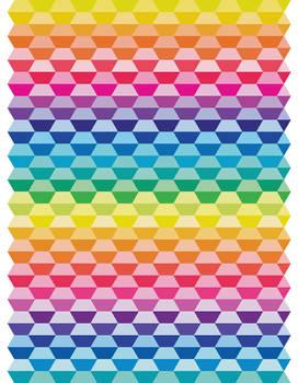 Rainbow Tessellation 2