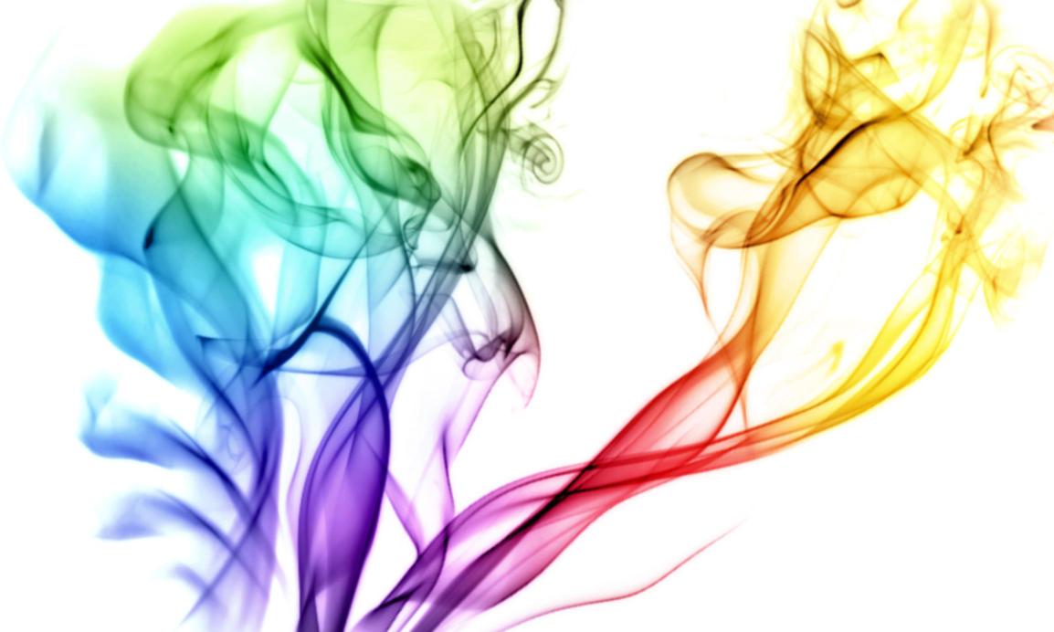 Chromatic Smoke Wallpaper by Humble-Novice