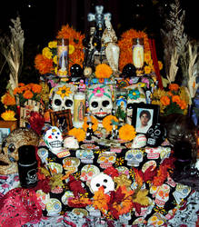 Day of The Dead Altar 4