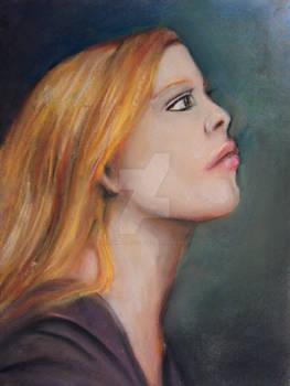 Colored Portrait Sketch