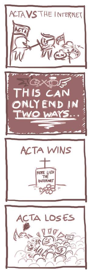 ACTA V.S. The Internet