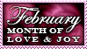 February Stamp by Humble-Novice