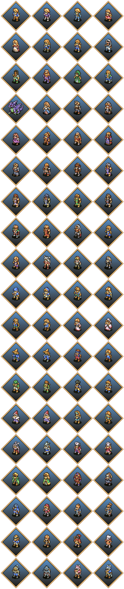 Final Fantasy Tactics Sprites by Humble-Novice