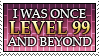 Level 99 Player Stamp by Humble-Novice