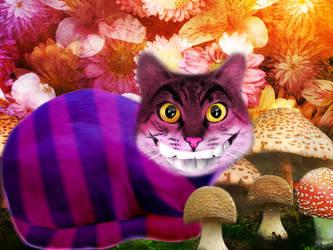 Cheshire Cat by MallcoreMassacre