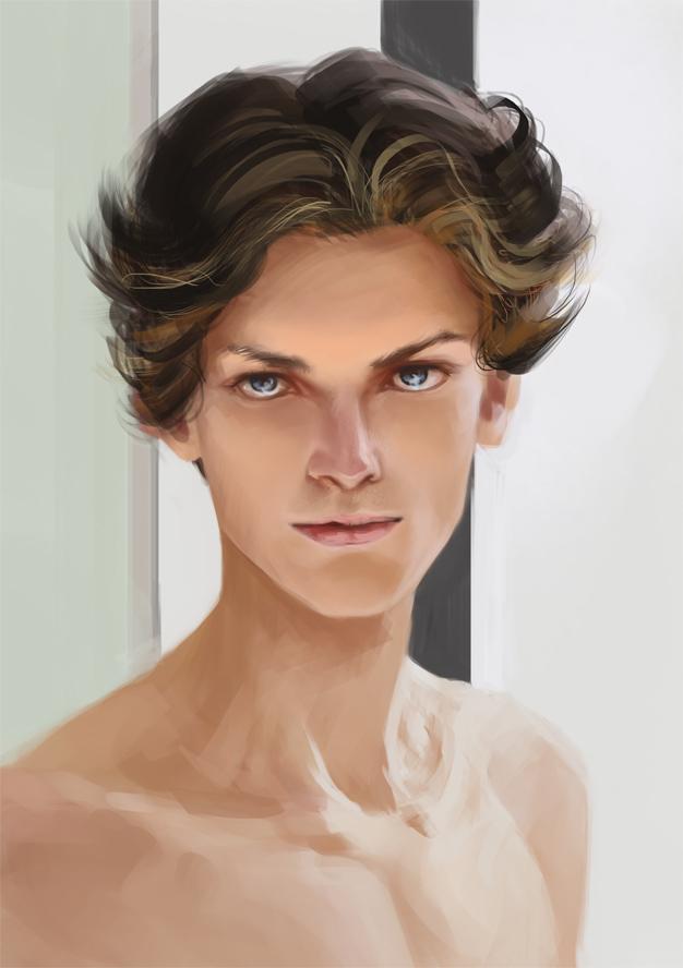 Study Male Face By Ardariel On Deviantart