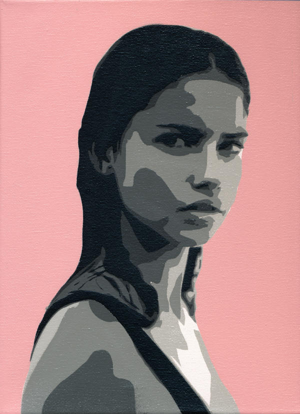 Adriana Lima Canvas by delicnets