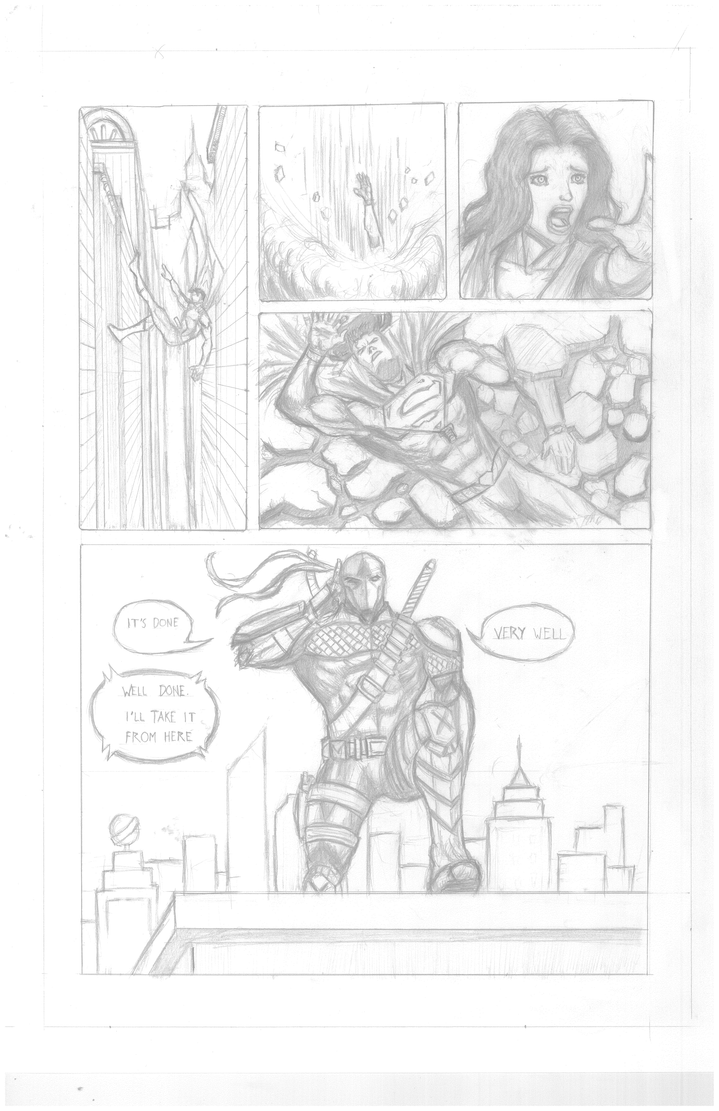 Pencils Portfolio Page 4 by DKGrayFox