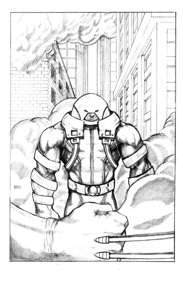 Juggernaut Commission by DKGrayFox