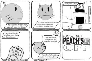 Peach the Destroyer - Issue 07 by JPasquarelli