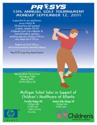 PROSYS Golf 2011 Invitation by JPasquarelli