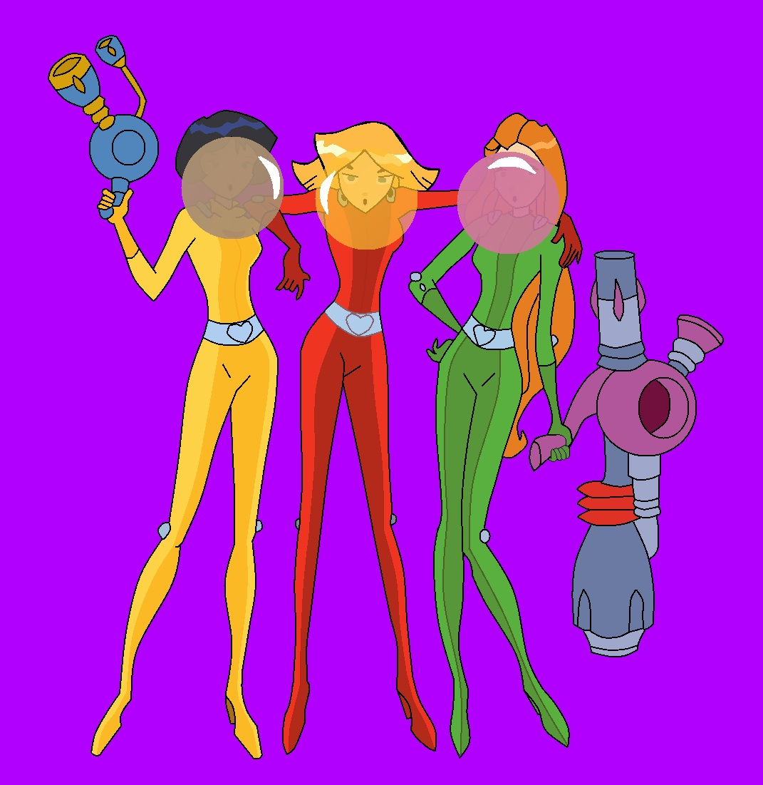 Totally Spies Gum by mrentertainment