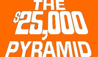 The $25,000 Pyramid Logo by mrentertainment