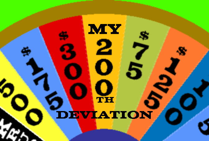 My 200th Deviation by mrentertainment