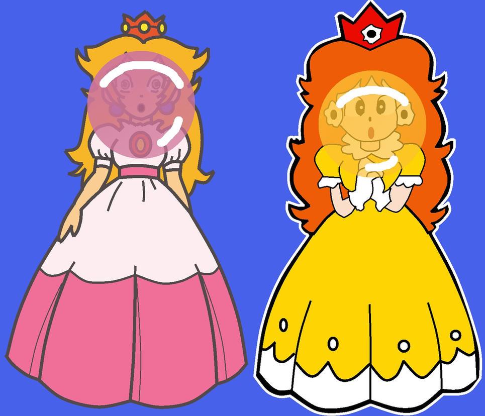 Peach and Daisy Gum by mrentertainment