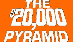 The $20,000 Pyramid Logo