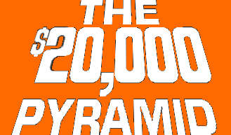 The $20,000 Pyramid Logo by mrentertainment
