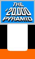 The $20,000 Pyramid Host Podium (Blue)
