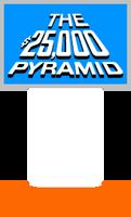 The $25,000 Pyramid Host Podium (Light Blue)