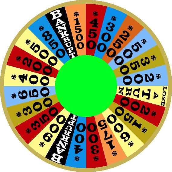 1976 Round 3 Wheel by mrentertainment