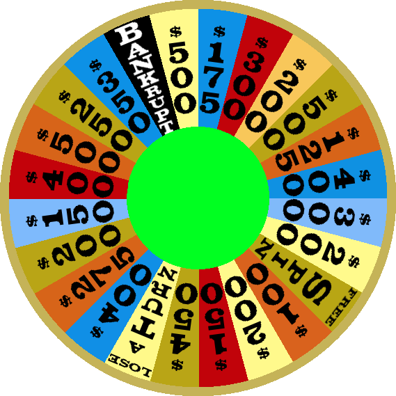 1978a Round 1 Wheel by mrentertainment