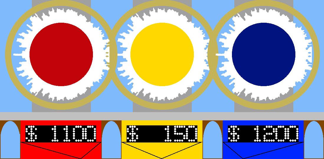 Sunburst Contestant Area by mrentertainment