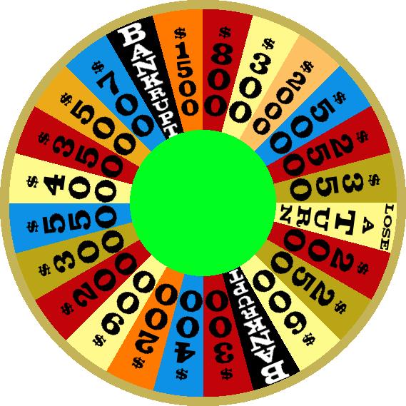 1981 Round 3 Wheel by mrentertainment