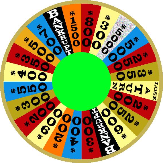 1983 Round 3 Nighttime Wheel by mrentertainment