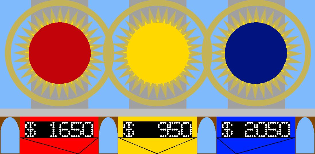 Second Sunburst Contestant Area by mrentertainment