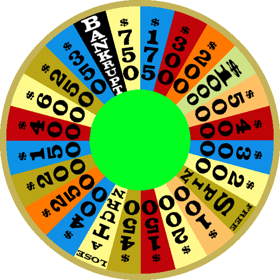 1984a Round 1 Nighttime Wheel by mrentertainment