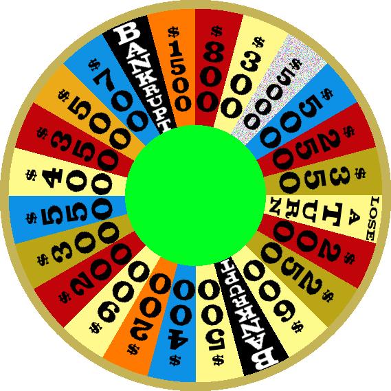 1984c Round 3 Nighttime Wheel by mrentertainment