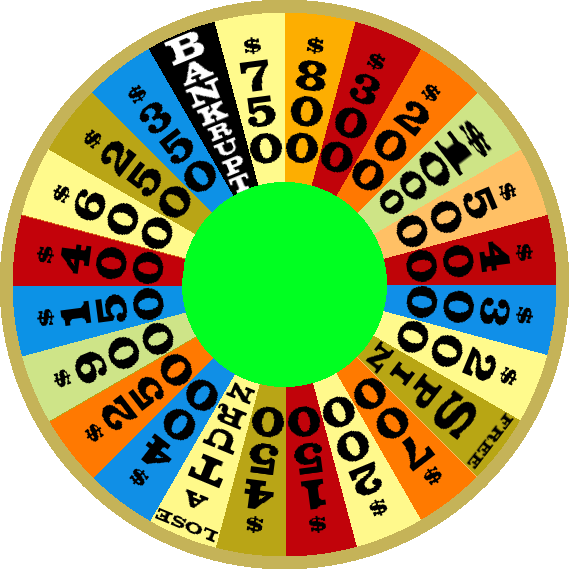 1984c Round 1 Nighttime Wheel by mrentertainment