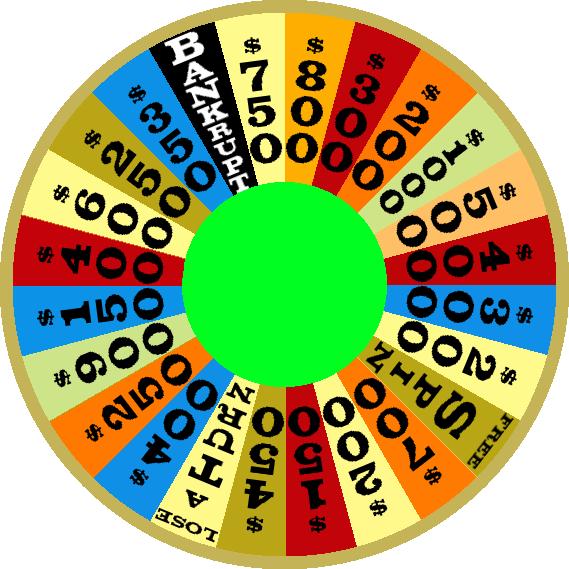 1985a Round 1 Nighttime Wheel by mrentertainment
