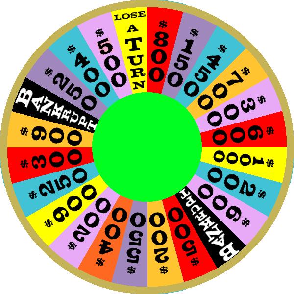1986 Round 2 Nighttime Wheel by mrentertainment