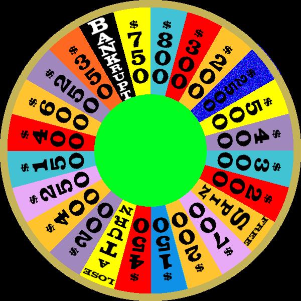1987 Round 2 Nighttime Wheel by mrentertainment