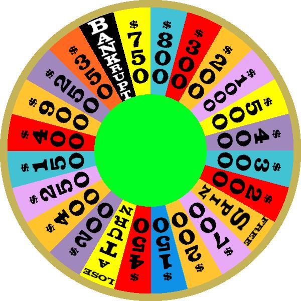 1987 Round 1 Nighttime Wheel by mrentertainment
