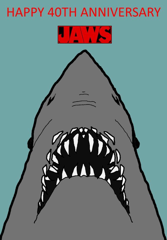 Jaws 40th Anniversary by mrentertainment