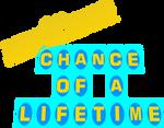 $1,000,000 Chance of a Lifetime Logo